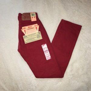 NWT Vintage 1993 Levi's 501 high waisted mom jeans